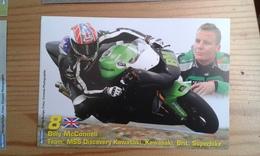 Carte Postale Moto Gp Kawasaki Billy Mcconnell - Motorbikes