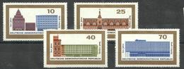 """DDR 1126-29 """" 4 Briefmarken Zu 800 Jahre Stadt Leipzig 1965, Im Satz Kpl."""" Postfrisch Mi.-Preis 3,00 - [6] République Démocratique"""