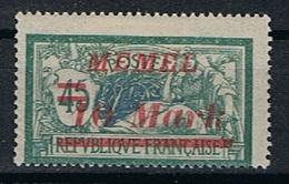 Memel Y/T 89 (*) - Unused Stamps