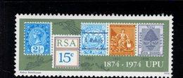 900271960 1974 UPU - SOUTH AFRICA SCOTT 407 POSTFRIS MINT NEVER HINGED EINWANDFREI (XX) - Timbres