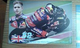 Carte Postale Moto Gp Aprilia 125 Denny Kent - Motorbikes