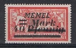 Memel Y/T 84 (*) - Unused Stamps