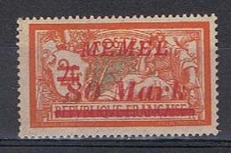 Memel Y/T 93 (*) - Unused Stamps