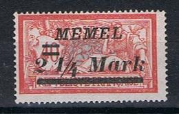 Memel Y/T 70 (*) - Unused Stamps