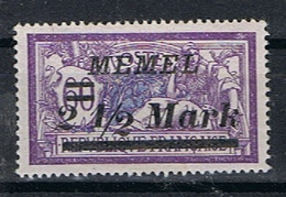 Memel Y/T 71 (*) - Memel (1920-1924)