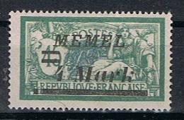 Memel Y/T 72 (*) - Unused Stamps