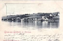 Suisse - Zurich -  Gruss Aus KUSNACHT  -  GOLDBACH Am Zurichsee - 1899 - ZH Zurich