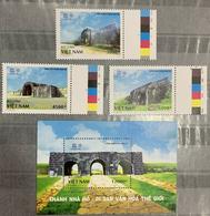 Vietnam Viet Nam MNH Perf Stamps & Souvenir Sheet 2018 : WORLD HERITAGE / Ho Dynasty CItadel (Ms1095) - Vietnam