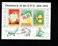 900276190 1974 UPU - BARBUDA SCOTT 169A POSTFRIS MINT NEVER HINGED EINWANDFREI (XX) - Timbres