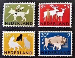 SOCIETE PROTECTRICE DES ANIMAUX 1964 - NEUFS ** - YT 792/95 - MI 818/21 - Unused Stamps