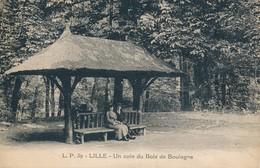 Lille LP 39 Un Coin Du Bois De BoulogneTBE - Lille