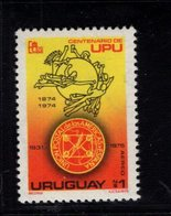900286552 1974 UPU - URUGUAY SCOTT C416 POSTFRIS MINT NEVER HINGED EINWANDFREI (XX) - Timbres