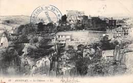 PIE-Z SDV-19-4879 : CACHET FRANCHISE POSTALE. HOPITAL BENEVOLE N° 35 BIS. VILLE D'ANNONAY. ARDECHE. - Marcophilie (Lettres)