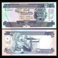 BILLET SALOMON ISLAND 5 DOLLAR - Salomons
