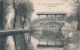 Lille Eld 38 Petit Logo Avenue Des Maronniers Et Pont Napoléon état Neuf - Lille