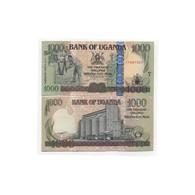 BILLET OUGANDA  1000 MOJA - Ouganda