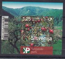 Slovenia Slovenie Slowenien 2013 Used CTO: Nature; Fruits Apple Apfel; Nature Park Kozjansko - Holidays & Tourism