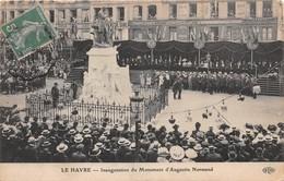 LE HAVRE - Inauguration Du Monument D'Augustin Normand - Le Havre