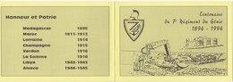 Centenaire Du 7° Régiment Du Génie 1894 - 1994 - Carnets