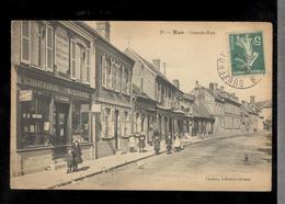 CPA 80 Rue - Grande Rue - Circulée 1916 - Rue