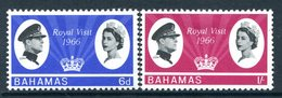 Bahamas 1966 Royal Visit Set HM (SG 271-272) - 1963-1973 Ministerial Government