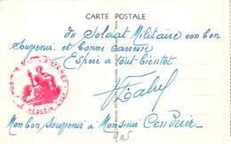 PIE-Z SDV-19-4890 : CACHET FRANCHISE MILITAIRE. HOSPICE MIXTE D'HYERES. LE MEDECIN CHEF. VAR. - Marcophilie (Lettres)