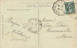PIE-Z SDV-19-4892 : CACHET AMBULANT. VINTIMILLE A NICE. 1924 - Marcophilie (Lettres)