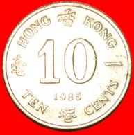 + 4 CHARACTERS OF CHINA: HONG KONG ★ 10 CENTS 1985! LOW START ★ NO RESERVE! - Hongkong