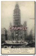 CPA Paris Hector Lievre Echafaudages Rapides Avenue D&#39Ivry - Altri Monumenti, Edifici
