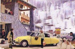 Citroen ID 19  -  Carte Postale Moderne - Voitures De Tourisme