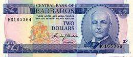 BILLET BARBADES 2 DOLLAR - Barbados