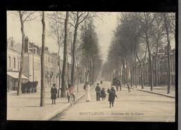 CPA - Montargis - Avenue De La Gare -  Non Circulée - Montargis