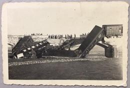 1938 REMANZACCO 22 Novembre 1938 Incidente Ferroviario Sul Torre / Cividale Del Friuli UDINE - Treni