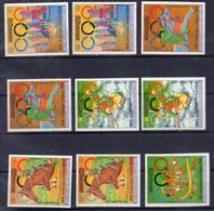 RÉPUBLIQUE KHMÈRE ! SÉRIE De Timbre Anciens NEUFS** NON DENTELÉS De 1976 - Stamps