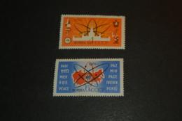 K24576 -set  MNH  Russia -  1962 - Peace Paix - Ruimtevaart