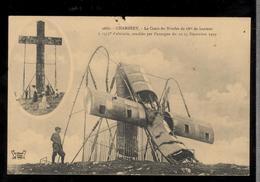 CPA 73 Chambery - La Croix Du Nivolet Couchée Par L'ouragan De 1909 - Non Circulée - Chambery