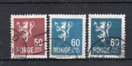 NOORWEGEN Yt. 122/123° Gestempeld 1926-1929 - Norvegia