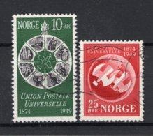 NOORWEGEN Yt. 314/315° Gestempeld 1949 - Norvegia