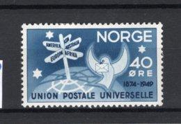 NOORWEGEN Yt. 316 MH* 1949 - Norvegia