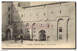 CPA Avignon Palais Des Papes Cour Interieure - Avignon (Palais & Pont)