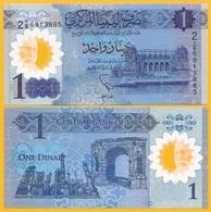 Libya 1 Dinar P-new 2019 Commemorative UNC Polymer Banknote - Libya