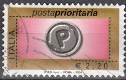 Italia 2004 Michel 2983 O Cote (2006) 4.40 Euro Timbre Prior Cachet Rond - 2001-10: Usados