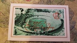 STADE / STADIUM / STADIO : CENTRAL STADIUM - KIEV / UKRAINE. Aerial View. 1985 - Very Rare Invitation Card - Stadions