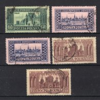 POLEN Yt. 779/781° Gestempeld 1954 - 1944-.... República