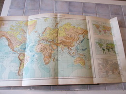 Atlas Universel Quillet - Le Monde Francais 1933 - France Et Colonies - Geografia