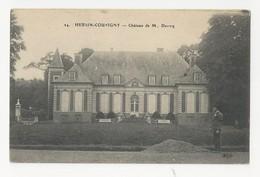 62 HERSIN COUPIGNY - Château De M. Devicq - Cpa Pas De Calais - Frankrijk