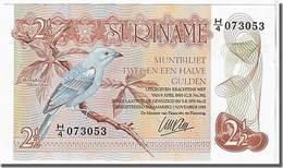 BILLET SURINAM 2 GULDEN - Surinam