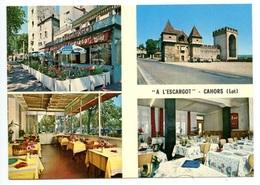 CAHORS - Carte Publicitaire Restaurant  A L'Escargot - Voir Scan - Cahors
