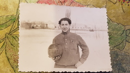 USSR Officer - Military  - Football - Real Old Soviet Photo 1950s - Personnes Anonymes