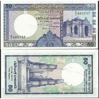 BILLET SRI LANKA 50 RUPPEES - Sri Lanka